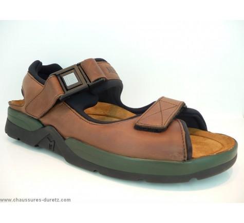 sandale homme m phisto atlas fit marron sandales nu pieds m phisto. Black Bedroom Furniture Sets. Home Design Ideas