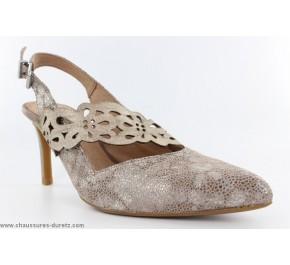Chausures femme France Mode - ELIOT Verni Silver