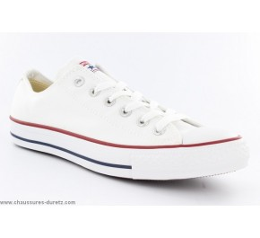 Baskets mixtes Converse - ALL STAR HI Toile Rouge