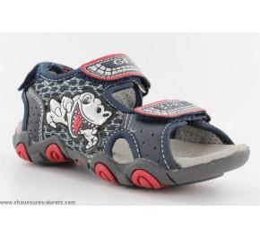 Sandales bébés Géox - KNOUT Caramel / Navy