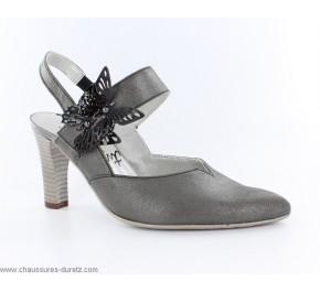 Chaussures femme Un tour en Ville - PEBOUC Beige