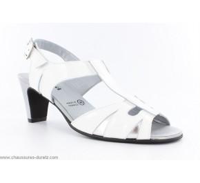 Chaussures femme Artika - JIPSI Blanc / Gris