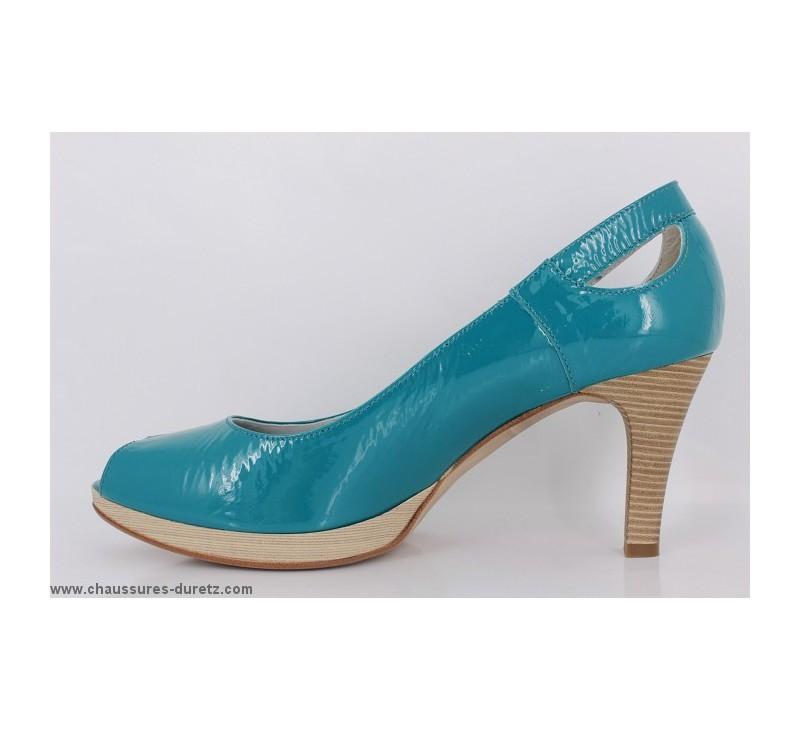 chaussures femme un tour en ville mabile turquoise escarpins un tour en ville. Black Bedroom Furniture Sets. Home Design Ideas