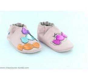 Chaussures bébé Converse - FIRST STAR Rose