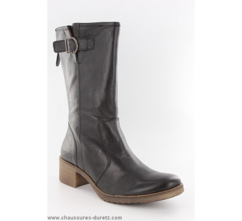 bottes femme kickers milanaise noir bottes talons kickers. Black Bedroom Furniture Sets. Home Design Ideas