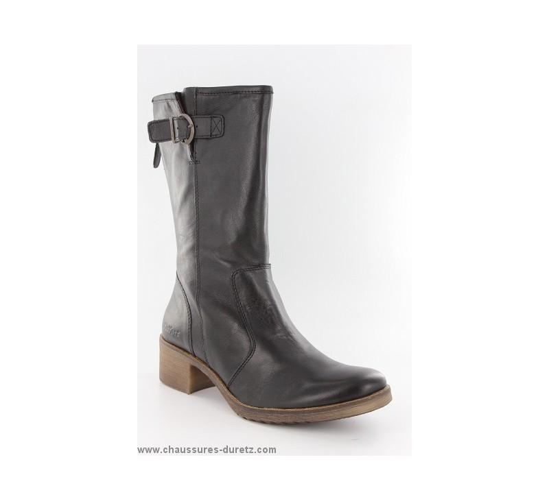 bottes femme kickers milanaise noir bottes talons. Black Bedroom Furniture Sets. Home Design Ideas