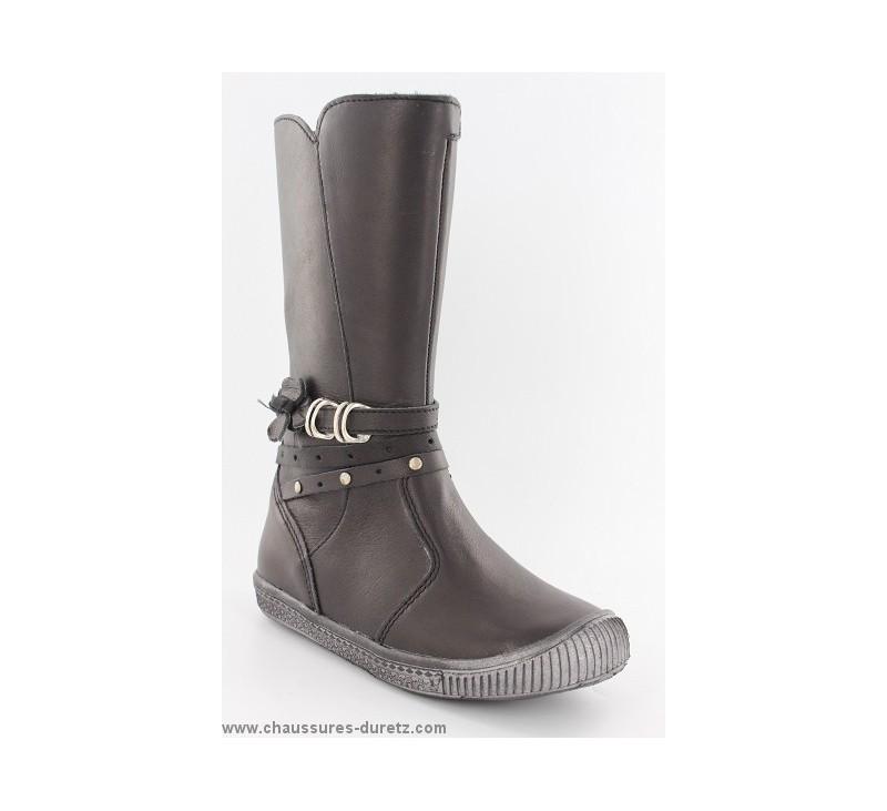 botte fille babybotte kanesha noir boots bottes babybotte. Black Bedroom Furniture Sets. Home Design Ideas