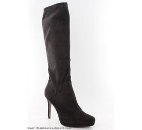Boots femmes Tamaris - JAPON Python Verni Noir