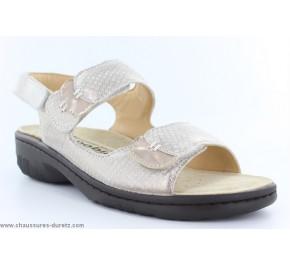 Sandales femme Méphisto - GETHA Light Grey