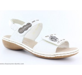 Sandales femme Rieker - VIRUS Noir 60886-00