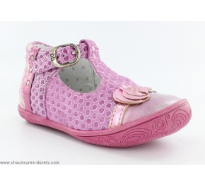 Chaussures filles Babybotte - POTIRON Blanc / Pois