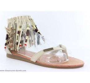 Sandales filles Tropéziennes - HERISSON Argent