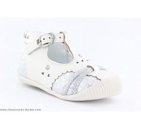 Chaussures bébé Babybotte - SAVANE Croco Fuchsia