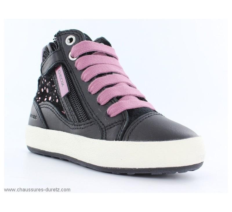 baskets fille g ox fumee noir violet bottines g ox. Black Bedroom Furniture Sets. Home Design Ideas