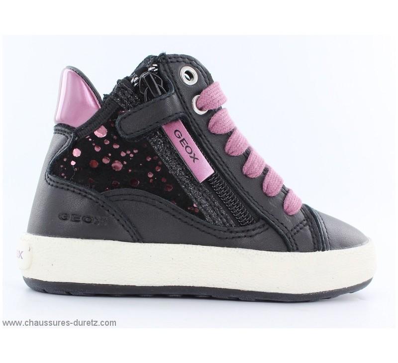 baskets fille g ox fumee noir violet enfants g ox. Black Bedroom Furniture Sets. Home Design Ideas