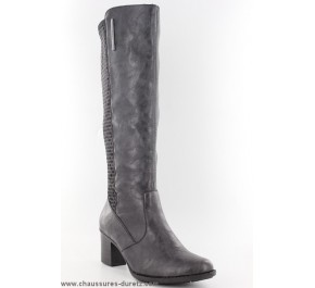 Bottes femme Rieker - ROTU Taupe Z7672-42