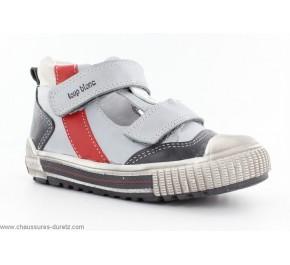 Chaussures garçons Loup Blanc - HAVIRON Taupe