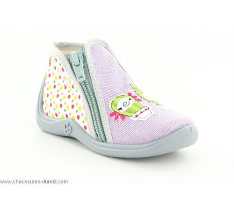 pantoufles fille babybotte chaussures duretz. Black Bedroom Furniture Sets. Home Design Ideas