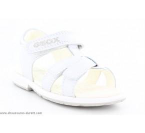 Sandales filles Géox - EFLEUR Blanc