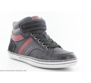 Chaussures garcon Géox - DAO Gris / Noir