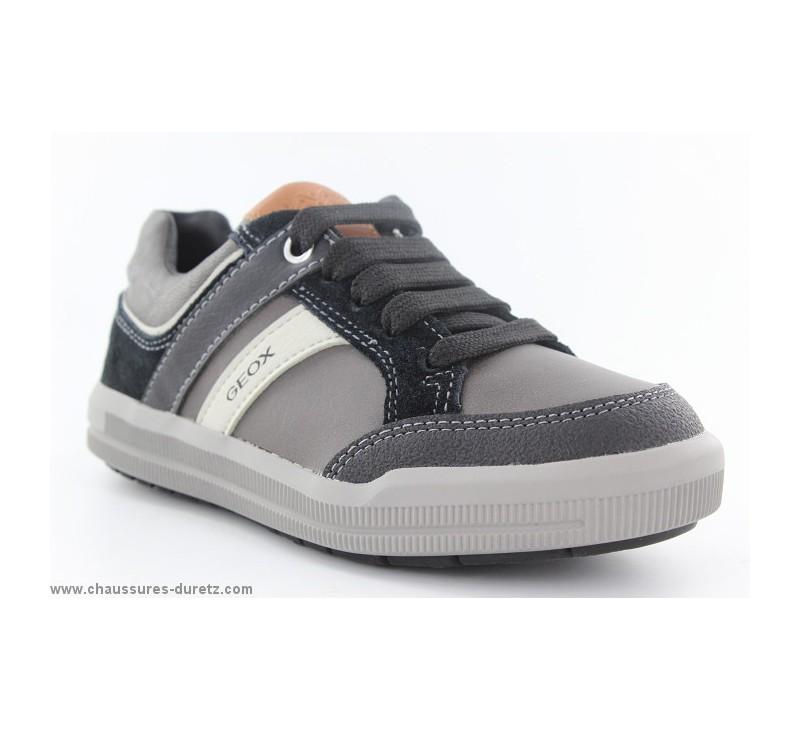 chaussures garcon g ox dao gris noir chaussures g ox. Black Bedroom Furniture Sets. Home Design Ideas