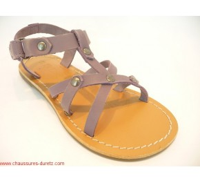Sandale fille Kickers - DIABOLIC Rose