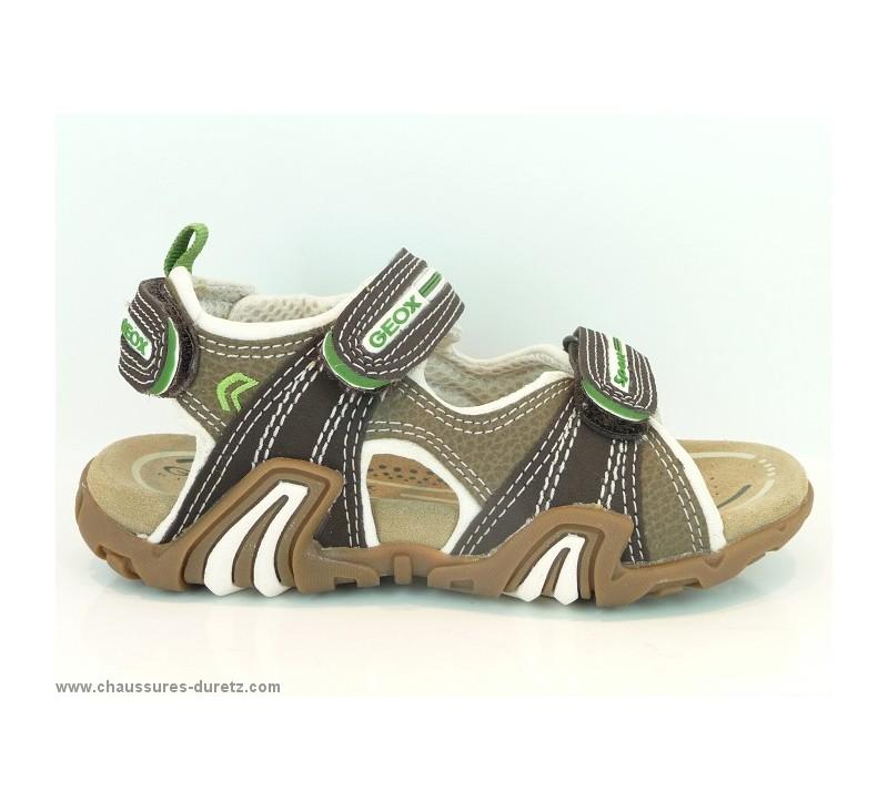 sandales gar ons g ox safari marron sandales g ox. Black Bedroom Furniture Sets. Home Design Ideas