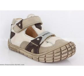 Chaussures bébés Babybotte - SESAME Marron