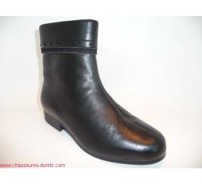 Boots femme fourrés Ombelle GUYANE Noir