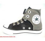 Baskets toiles Converse EASY SLIP Noir / Gris