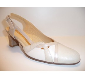 Chaussures femme Ombelle - FORAS Gris / Blanc