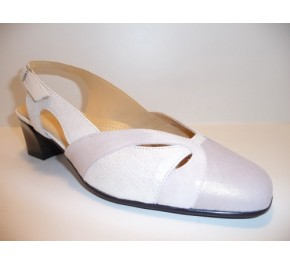Chaussures femme Ombelle FORAS Gris / Blanc