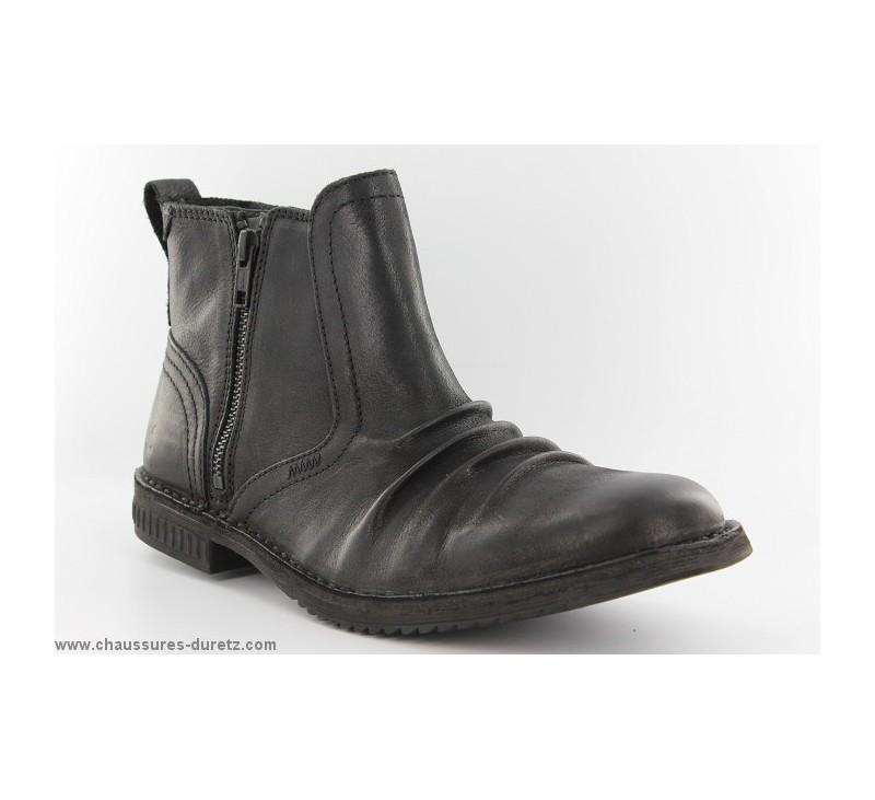 design distinctif classique chic prix modéré Boots homme Kickers JESOIF Noir