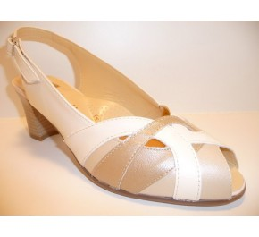 Sandale femme Artika Ombelle KAOLA Ecru / Beige