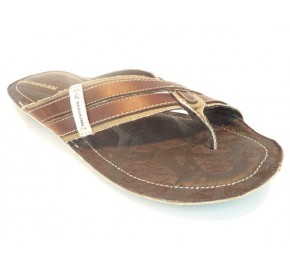 Mules homme Redskins QUITO Marron