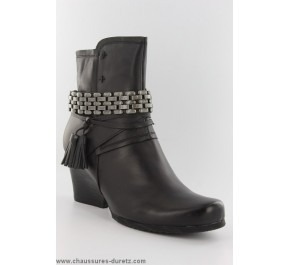 Boots femme Mam'Zelle VOICE Noir