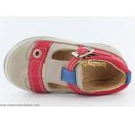 Chaussures Garçon Babybotte SHARK Taupe