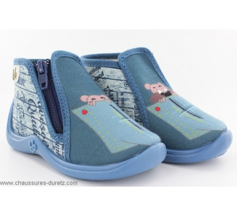 Babybotte MAJIK Bleu / Poche de jeans