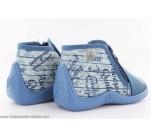 Pantoufles Babybotte MAJIK Bleu / Poche de jeans