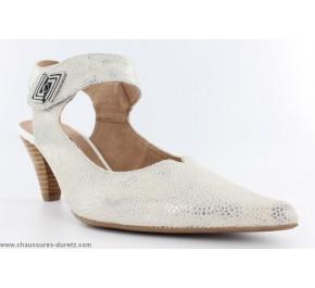Chaussures femme Fugitive CLIVEN Blanc / Argent