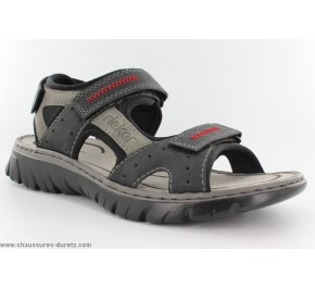 Sandales homme Rieker SPOT Noir 26757-00