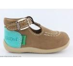 Chaussures Kickers BONBEK Marron / Turquoise