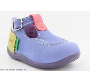 Chaussures Bébés Kickers BONBEK Violet / Rose