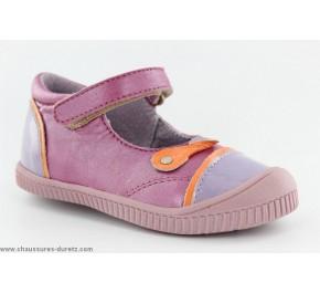 Chaussures bébés Kickers NOLITA Lilas / Orange