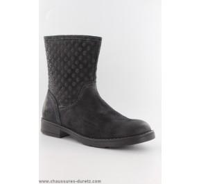 Boots filles Géox HUIT Noir