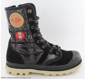 Bottines filles Palladium BAGGY EXP TFL Noir
