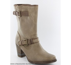 Boots femme Mustang AVEU Taupe