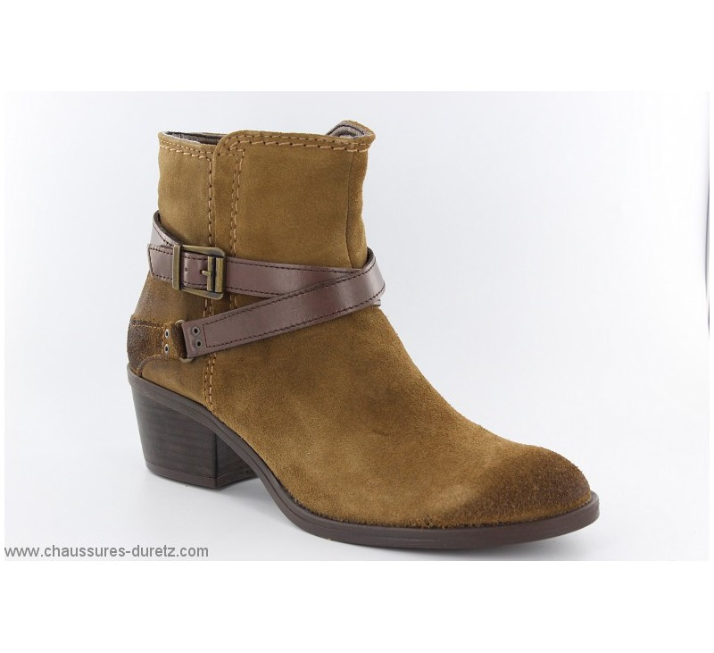 Boots femme Tamaris HUITRE Marron