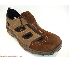 Chaussures homme Rieker RENE Marron 08075-27