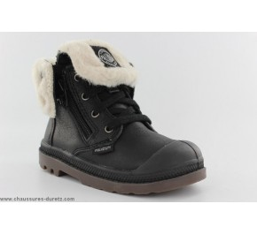 Bottines mixtes Palladium BAGGY LEA BB Noir